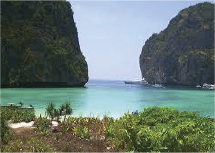Maya Bay is fascinating thanks to the myth.